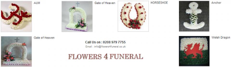 Funeral Flowers Arrangement